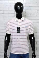 Polo WAMPUM Uomo Taglia XL Maglia Shirt Man Maglietta Cotone A Righe