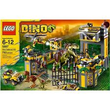 Lego Dino Defense HQ 5887- Used (Not Including: Characters, Dinosaurs, Manuals)