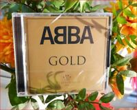 "Abba/Best of New Sealed Freepost ""Gold Greatest Hits"" CD Mamma Mia/Dancing Queen"