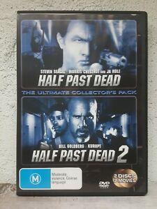 Half Past Dead DVD + HALF PAST DEAD 2 - 2 Disc Steven Seagal Action