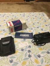 Vintage Olympus Shoot And Go Camera With Box And Case