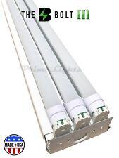 NEW 4 foot 8250 Lumens 66 Watt LED Shop Work Garage Light Fixture FROSTED LAMPS