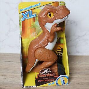 "Imaginext Jurassic World T-REX 9.5"" XL Figure Camp Cretaceous Fisher Price -2021"