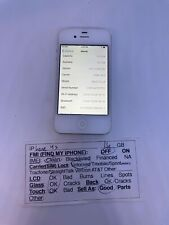 New listing Apple iPhone 4s - 16Gb - White - (Unlocked) A1387 (Cdma + Gsm) - Works Great