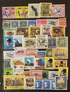 EL SALVADOR Stamp Lot Used T8590