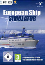 PC Computer Spiel * Ship Simulator European * Simulation Shiff Boot *****NEU*NEW