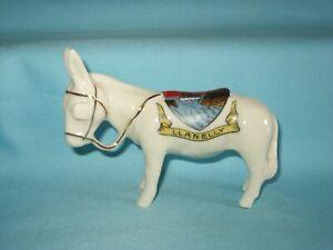 German Souvenir Ware Donkey - LLANELLY Crest