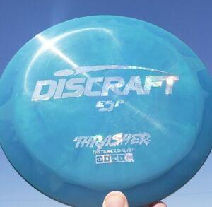 NEW Discraft ESP Money Foil THRASHER 174g Swirly Blue