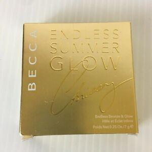 Becca Chrissy Teigen Endless Summer Bronze & Glow Compact  Bronzer Highlighter