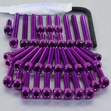 Aluminium Engine Kit Suzuki GSF600 Bandit 00-04 Purple
