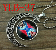 HOT Browning Deer Silver Plated CHAIN NECKLACE Alloy & Pendants #YLB-37