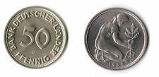50 Pfennig Bank Deutscher Länder 1950G irrtümlich geprägt TOP-Erhaltung  fast st
