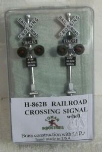 TOMAR  H-862B RAILROAD CROSSING SIGNAL WITH BELL