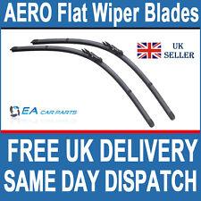 VAUXHALL CORSA 2006+ AERO Flat Wiper Blades 26-16 Pinch Tab Fitment