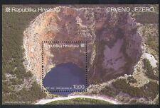Croatia 2007 Red Lake/Cliffs/Nature/Geology/Environment 1v m/s (n38719)