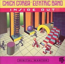Inside Out by Chick Corea/Chick Corea's Elektric Band (CD, Jan-1990, GRP (USA))
