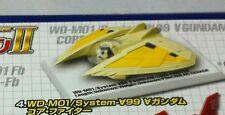 Bandai Mobile Suit Gundam Selection 4 WD-M01 Core Fighter Chogokin Ver 2007