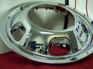 "Fits Dodge ram 3500 17"" Dually Wheel Simulator SNAP ON front hubcap liner BLEM"
