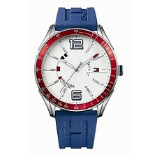 SALE!! AUTH.BNIB TOMMY HILFIGER MENS SILICON SPORTS WATCH 1790800 (REPRICED)