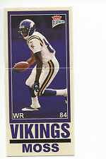 RANDY MOSS 2003 Fleer Platinum Big Signs card #8BS Minnesota Vikings Football NM