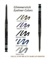 AVON GLIMMERSTICKS EYELINER NEW  &  BOXED   LOOK FREE POSTAGE * SALE *
