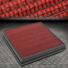 FOR 11-16 CRUZE CASCADA 1.4L/1.6L/2.4L WASHABLE DROP-IN PANEL AIR FILTER RED