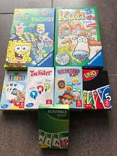 7 Reisespiele Uno Spongebob-Pachisi, Twister, Scrabble & Co.