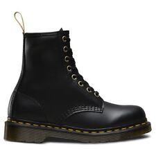 Dr.Martens Vegan 1460 Felix Rub Off 8 Eyelets Black Womens Boots