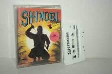 SHINOBI SEGA GIOCO USATO BUONO STATO COMMODORE 64 EDIZIONE ITALIANA FR1 54136