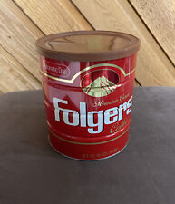 Vintage Folgers Coffee Can 3 lbs.