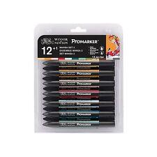 Winsor & Newton ProMarker Twin Tip permanenti pennarello 12+1 MANGA Set #2 vendita