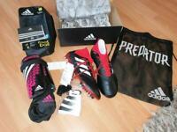 adidas Predator 18.1 SG LEA ORIGINALS Soccer Neu Gr.40 OVP + Extra