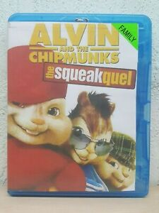 Alvin and the Chipmunks 2 The Squeakquel Blu-ray 2009 DVD Region B