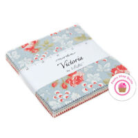 """Moda VICTORIA 3 Sisters CHARM PACK 42- 5"""" squares 30's Quilting Fabric"""
