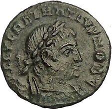 DELMATIUS Dalmatius 336AD Roman Caesar  Ancient Coin Soldiers Legions  i52852