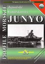 Profile Morskie 41: Japan. Flugzeugträger CV Junyo Schiff-Modellbau/Pläne/Fotos
