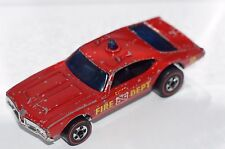 ORIGINAL Hot Wheels Redline - Chief's Special - Fire - Flying Colors - Blue Dome