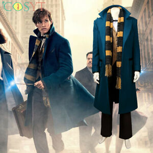 Newt Scamander Cosplay Costume Fantastic Beasts and Where to Find Them Suit Lot