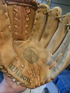 Vintage Wilson The A2000 XLO Professional Baseball Glove Made In Korea RHT 13