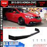 For 13-15 Honda Civic 4 Door Sedan Ikon Style Front Bumper Lip (Usdm Model)