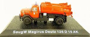 Fire Brigade Saugw Magirus Deutz 126 D 15 Ak 1:72 LF5 Μ