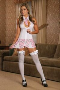 Exposed magic silk Cheap Thrills Very Private Schoolgirl Size L/XL Style #C129