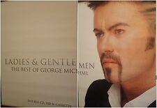 """2-Panel 80X120"""" Huge Subway Posters~George Michael 1998 Ladies & Gentlemen Hits~"""