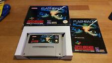 Flashback Super Nintendo SNES OVP pal cib Boxed #2
