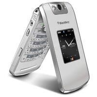 🇬🇧 Refurbished BlackBerry Pearl Flip 8220 Silver(Unlocked) Smartphone 🇬🇧