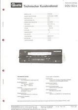 Fuente-universo privilegio original manual de servicio para 51334 ACR carradio 2785-a