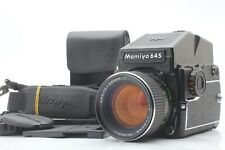 """Near Mint"" MAMIYA M645 1000S + AE Finder + C 80mm f/1.9 Lens From JAPAN #1020"