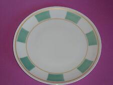 Assiette coupe GALERIE ROYALE vert amande porcelaine BERNARDAUD Limoges NEUVE