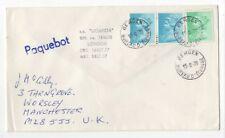 Bergen Norway Paquebot Postmark 15 Aug 1978 SS Uganda London Cover 973b