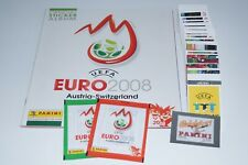 Panini Euro 2008 complete sticker set (1-535) + empty album 08